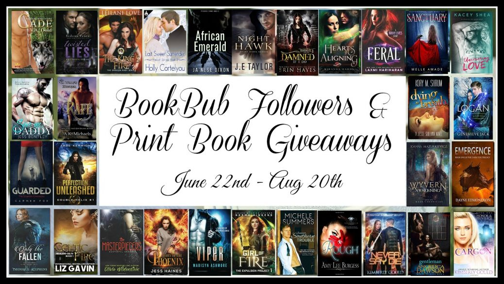 BookBub and Paperback Giveaway | Ja'Nese Dixon