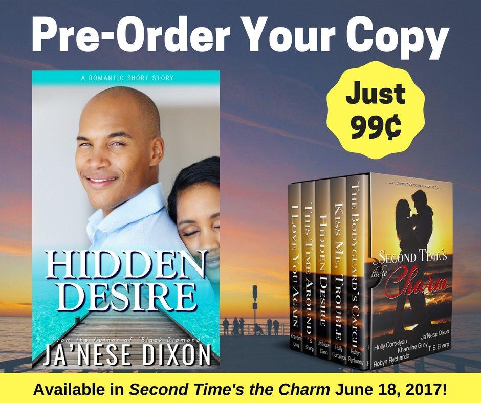 Pre-Order Hidden Desire by Ja'Nese Dixon
