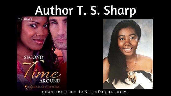 Author T. S. Sharp | Ja'Nese Dixon