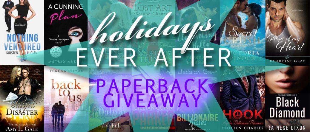 Holidays Ever After Paperback Giveaway | Ja'Nese Dixon