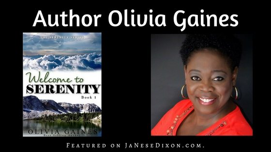 Author Olivia Gaines | Ja'Nese Dixon