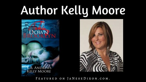 Author Kelly Moore | Author Feature | Ja'Nese Dixon