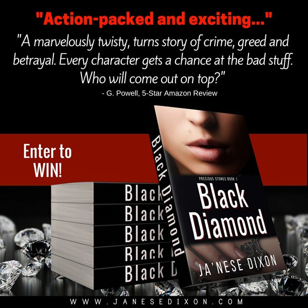 Paperback Giveaway - Black Diamond | Ja'Nese Dixon