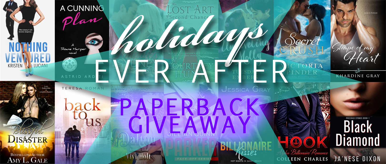 Holidays Ever After Paperback Giveaway | Ja'Nese Dixon